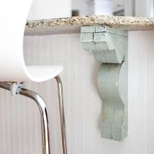 Bar Corbel 48 Best Island Supports Images On Pinterest Kitchen Islands