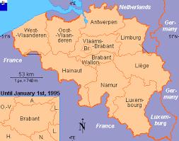 belgium in the map clickable map of belgium provinces