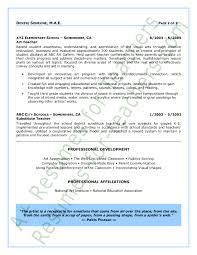Resume Sample For Teaching by Teacher Resume Sample Page 2