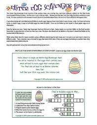 easter scavenger hunt amazon com printable easter egg scavenger hunt clues game