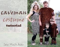 caveman costume tutorial sew much ado