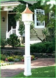 low voltage vinyl fence post lights low voltage post lights low voltage post lights outdoor with regard