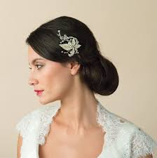 bridal hair clip gold wedding hair accessories wedding ideas by colour chwv