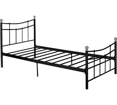 Single Bed Frame Buy Home Darla Single Bed Frame Black At Argos Co Uk Your