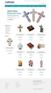 catholic gifts store catholic gift store zencart template themes business