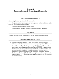 chapter 04 im request for proposal business