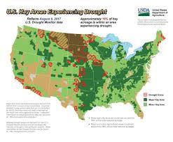 Map Of South Dakota Counties Drought Weaker In South Dakota Stronger In Iowa Kansas Crop