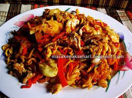 cara membuat mie goreng cur wortel resep mie goreng jawa tek tek spesial pedas resep masakan indonesia