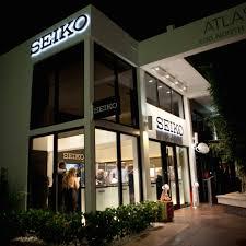 seiko opens miami boutique brings in special edition credor