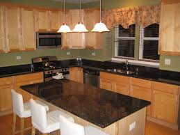 granite countertop rustic maple kitchen cabinets matching