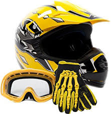 motocross gear package deals amazon com youth kids offroad gear combo helmet gloves goggles dot