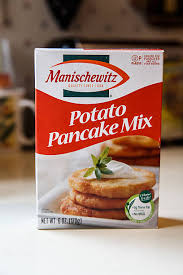 potato pancake mix manischewitz food packaged pictures getty images