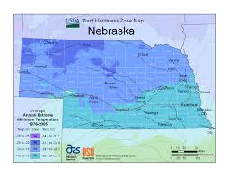 Time Zone Map Nebraska by Plant Hardiness Zones The How Do Gardener