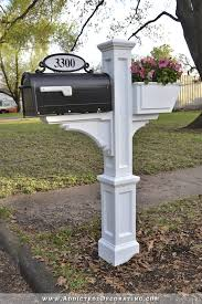sprucing up the exterior u2014 it all starts with a new mailbox