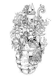 doodle invasion u2013 un nouveau livre de coloriage pour les adultes