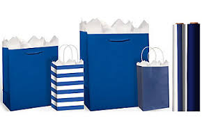 royal blue wrapping paper gift bags gift wrap wrapping paper tissue paper party city