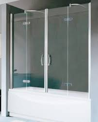 Over Bath Shower Door