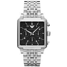 20 Classic Black And White Emporio Armani Classic Black Ss Mens Watch Ar1626 Nz Watch Store