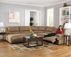 Reclining Corduroy Sectional Sofa By Coaster Traditional Sectional