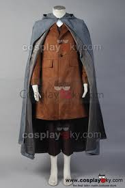 Lord Rings Halloween Costume Lord Rings Frodo Baggins Cosplay Costume Cape Coat