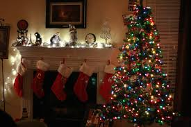 Lighted Christmas Decorations by Home Decoration Warm Christmas Living Decoration Cheerful