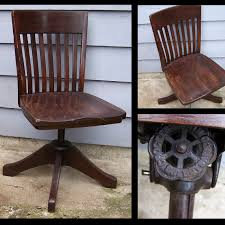 Vintage Wooden Dining Chairs 1924 Wooden Crocker