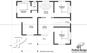 1000 sq ft floor plans 1000 sq ft single floor home kerala home design