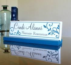 etched glass desk name plates desk name plate personalized customized logo engraved solid maple