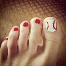 baseball nail art nails pinterest baseball nail art