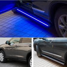 honda crv blue light hi q footboards side side board with blue lights for honda cr