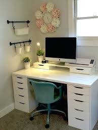 Small Computer Desks With Drawers Ikea Computer Table Desk Sit Stand Ikea Computer Table India