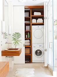 badezimmer einbauschrank waschmaschine verstecken bad