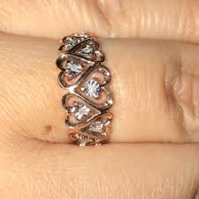 rose promise rings images Kay jewelers jewelry rose gold promise ring poshmark jpg