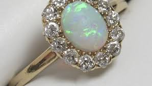 Opal Wedding Ring Sets by Engagement Rings Opal Wedding Ring Beautiful Opal And Diamond