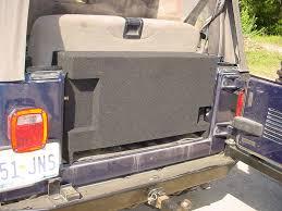 jeep wrangler speaker box jeep wrangler 2 10 all years jumbo box sub box car audio factory
