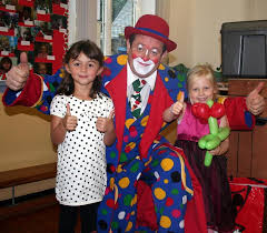 clown show for birthday party childrens entertainer hshire clown shows childrens