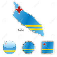 World Map Aruba by Fully Editable Flag Of Aruba In Map And Web Buttons Shapes Royalty