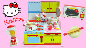 Kitchen Collectables Store by Hello Kitty Happy Kitchen Rement Collectibles Youtube