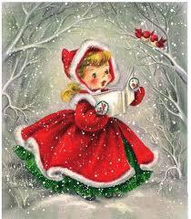 25 free vintage christmas printable images christmas card