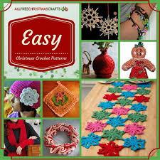 crocheted christmas 23 easy christmas crochet patterns allfreechristmascrafts