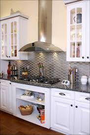 kitchen stainless steel subway tile stove backsplash tile peel