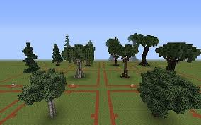 the evil sketch s custom trees minecraft project minecraft