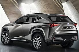 future cars brutish new lexus the design lexus lf nx concept