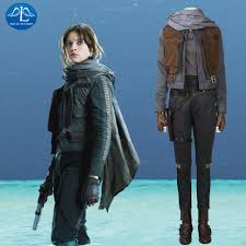 aliexpress com buy jyn erso cosplay costume rogue one a star