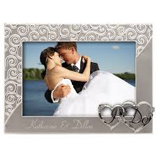 personalized wedding photo frame i do wedding picture frame