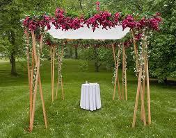 wedding chuppah imaginative unique floral wedding chuppah altar decoration ideas