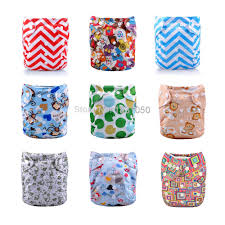 Choosed by Online Shop 10pieces Diapers Cover 10 Piece Insert 5 Types Can Be