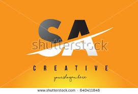 sa s letter modern logo design stock vector 640411846 shutterstock