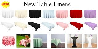 linens for rent want to make your tables and seating look rent our