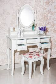 Vanity Desk Amazon Com Beautiful White Label Cleopatra Vintage Vanity Table